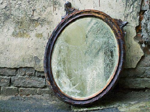 выбросить зеркало