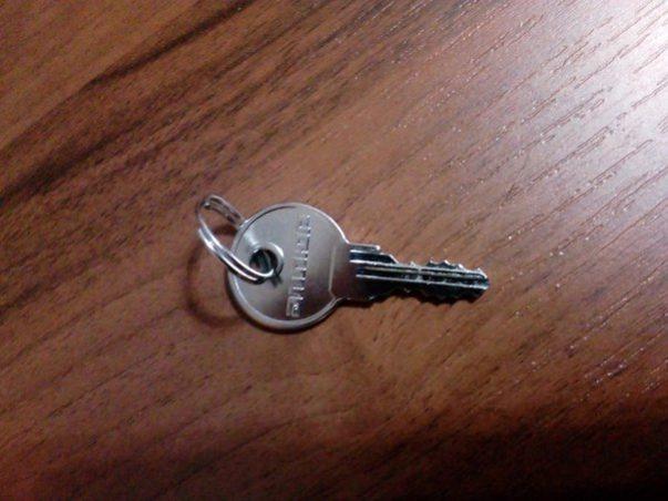 Нашли ключ