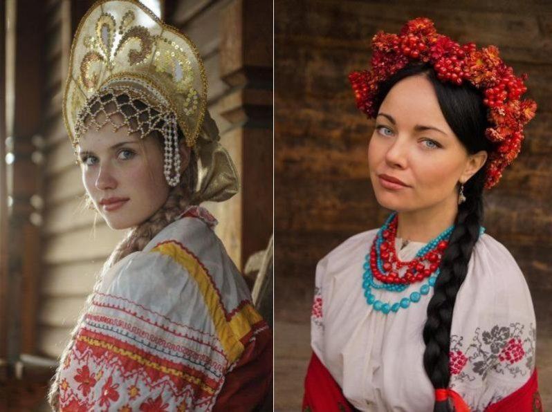 Какие есть отличия русских женщин от украинок