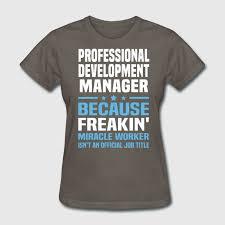 Professional Development Manager