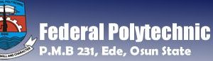 Federal Polytechnic Ede Full Time HND Admission Form