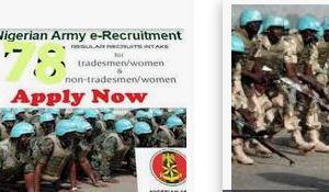 Nigerian Army 78rri List