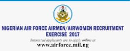 Nigerian Air force Recruitment Portal