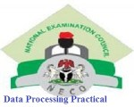 NECO Data Processing Practical Questions and Answers 2019 Practical