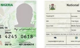 National Identification Number (NIN) Code