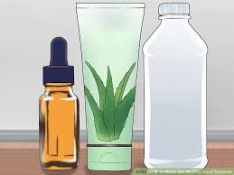How To Make Hand Sanitizers