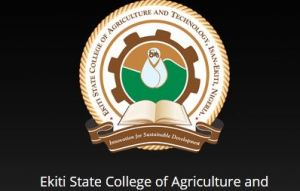 Ekiti State College of Agricultural Technology Shortlist 2020