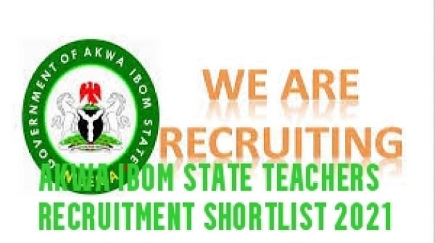 Akwa Ibom State Teachers Recruitment Shortlist 2021