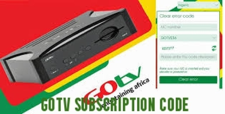 GOTV Subscription Code