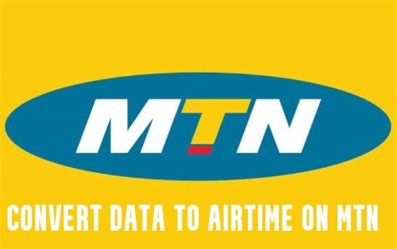 Convert Data to Airtime on MTN