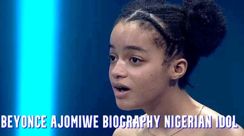 Beyonce Ajomiwe Biography Nigerian Idol