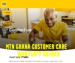MTN Ghana Customer Care WhatsApp Number