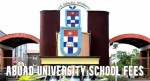 ABUAD University School Fees and Courses