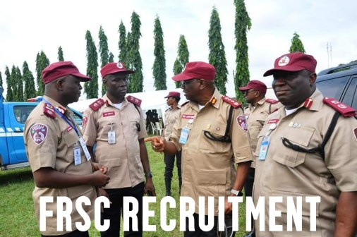 FRSC Recruitment Portal 2021