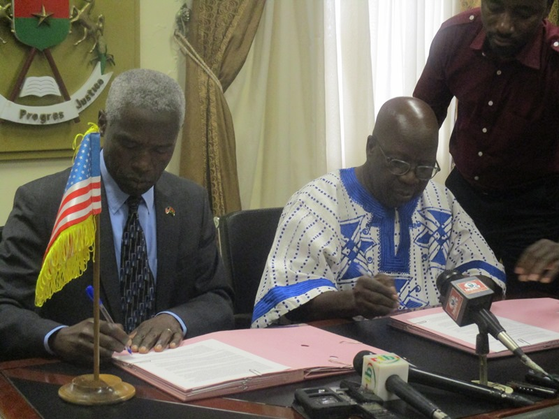 Sécurité: Les Etats Unis apportent leur concours au Burkina