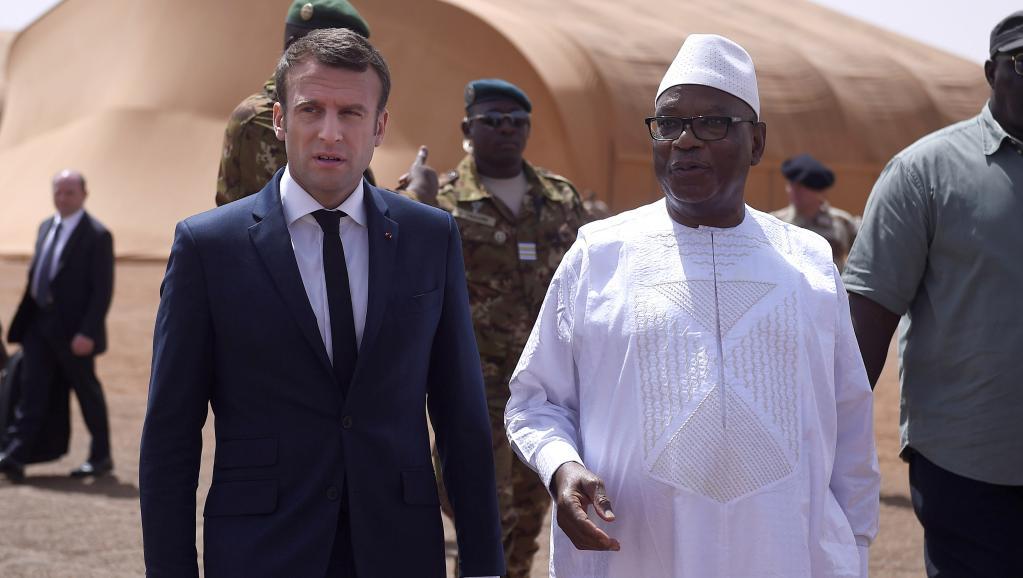 Mali : le président français Emmanuel Macron est arrivé ce vendredi a Gao