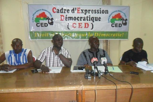 «Le PPP version actuelle du pouvoir MPP est un danger pour le BurkinaFaso», Pascal Zaida Coordonnateur du CED