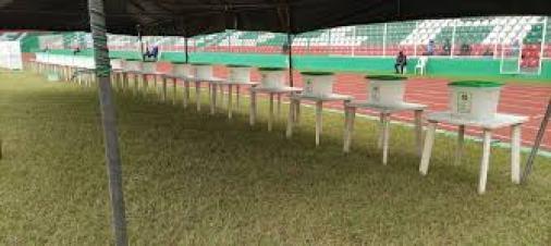 PDP Primaries: Voting materials arrive venue as election kicks off ...