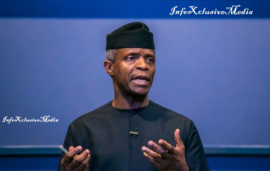 Nigeria Vice president speaks out on Nigeria breaking up, reveals his stand