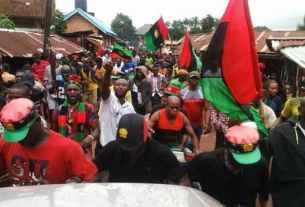 BREAKING: Biafra sit-at-home: Nnamdi Kanu's brother, IPOB spokesman clash heavily