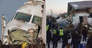 Kazakhstan plane crash: At least 12 dead after Fokker-100 crashes   Metro  News