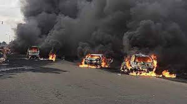 Explosion in Lagos, Nigeria