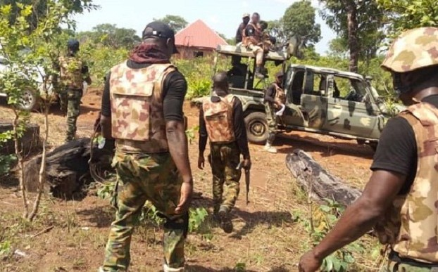 BREAKING: Many killed as bandits flee into military camp