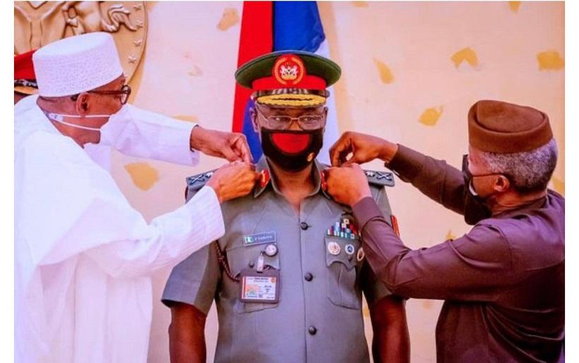 President Buhari promotes COAS, Faruk Yahaya with new rank