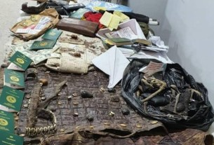 See what DSS recovered from Sunday Igboho's house after invasion [Photos]