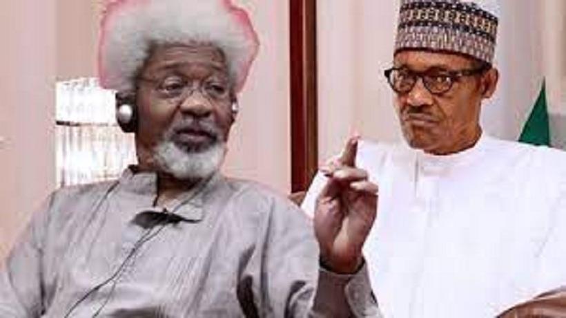 Soyinka Blasts Buhari Over Nnamdi Kanu, Sunday Igboho, Calls For Apology