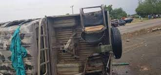 Photos/Video: How Soldiers Rushing To Scene Of Boko Haram Attack Got Into  An Accident