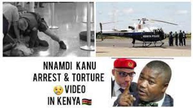 BREAKING: NNAMDI KANU AR*R€ST V!D€O IN KENYA 🇰🇪 N0W W!TH IFEANYI EJIOFOR...........  - YouTube