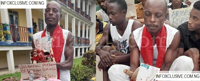 Pastor Bassey: Alleged To Have Engaged In A Criminal Act By The Police , See Offence