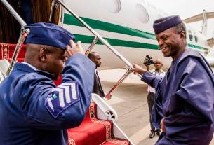Osinbajo jets out of Nigeria - Details