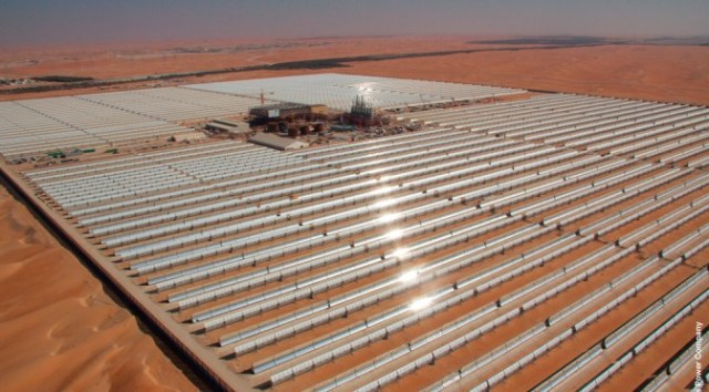 Morocco concentrated solar power plant