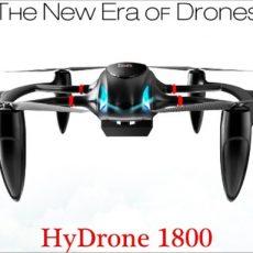 MMC HyDrone 1800, 2nd generation Hydrogen Fuel Cell drone