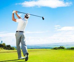 Golf oefenen