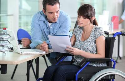 Увольнение инвалида без отработки