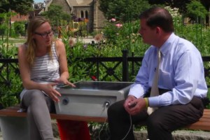 Infrastructure Innovation – Boston's Solar Powered Park Benches
