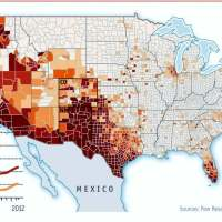 US Population and Demography, the Hispanic National Advantage