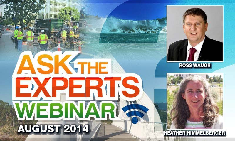 Ask the Experts August 2014 - Utility Infrastructure Asset Management Learning