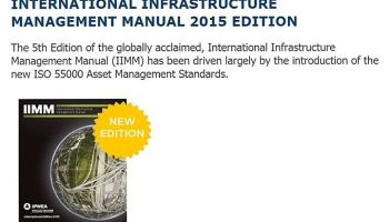 Asset management plan international standards a brief introduction international infrastructure management manual 5th 2015 edition fandeluxe Image collections