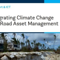Integrating Climate Change into Road Asset Management - A Climate Adaptation Resource