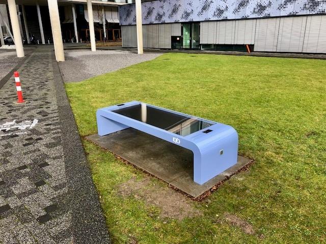 solar bench universiteit