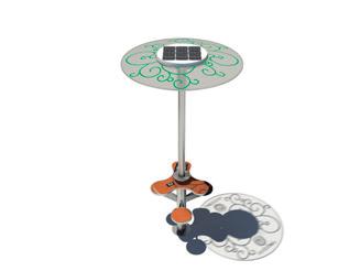 USB oplader op zonne-energie
