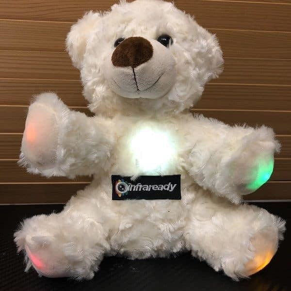 EDDY THE GHOST HUNTING BEAR EMF WITH AUDIO OUTPUT INFRAREADY
