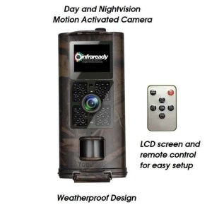 HD DAY AND NIGHTVISION GHOST HUNTING MOTION TRAP CAMERA