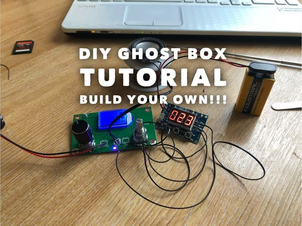 BUILD A SWEEP RADIO GHOST BOX TUTORIAL