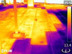 Infrared Roof Inspection Image