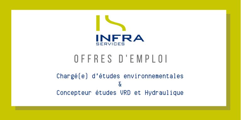 Emploi VRD hydraulique environnment